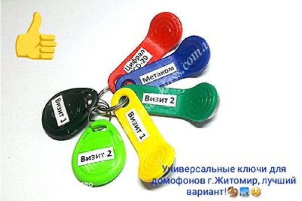 домофон вездеход ключ