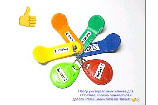 Универсальный домофонный ключ вездеход купить